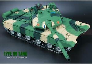 3b1f481ee633 Heng Long 1 16 BB ZTZ 99 RC Battle Tank Shoot Smoke Engine Sound 360 ...