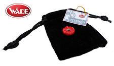 Wade Porzelain Whimsie Charms - Flower - Red  - hole diameter 5mm