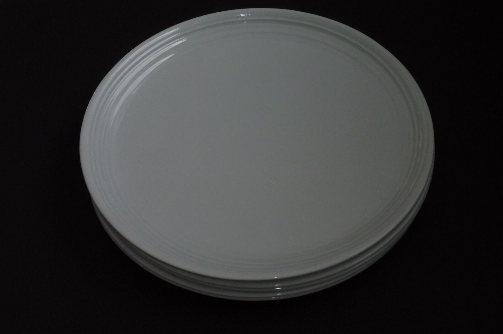 Rosenthal, Studio Line, Papyrus relief, neuf, 6 Petit déjeuner Assiette 22 cm, Blanc