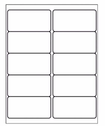100 x 10 per foglio A4 Autoadesivo Bastone Forte Indirizzo Postale Etichette del prodotto