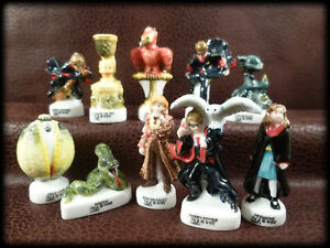 Harry Potter Collectibles 10 Porcelain Figurines Set Goblet Of Fire Wbe Ebay