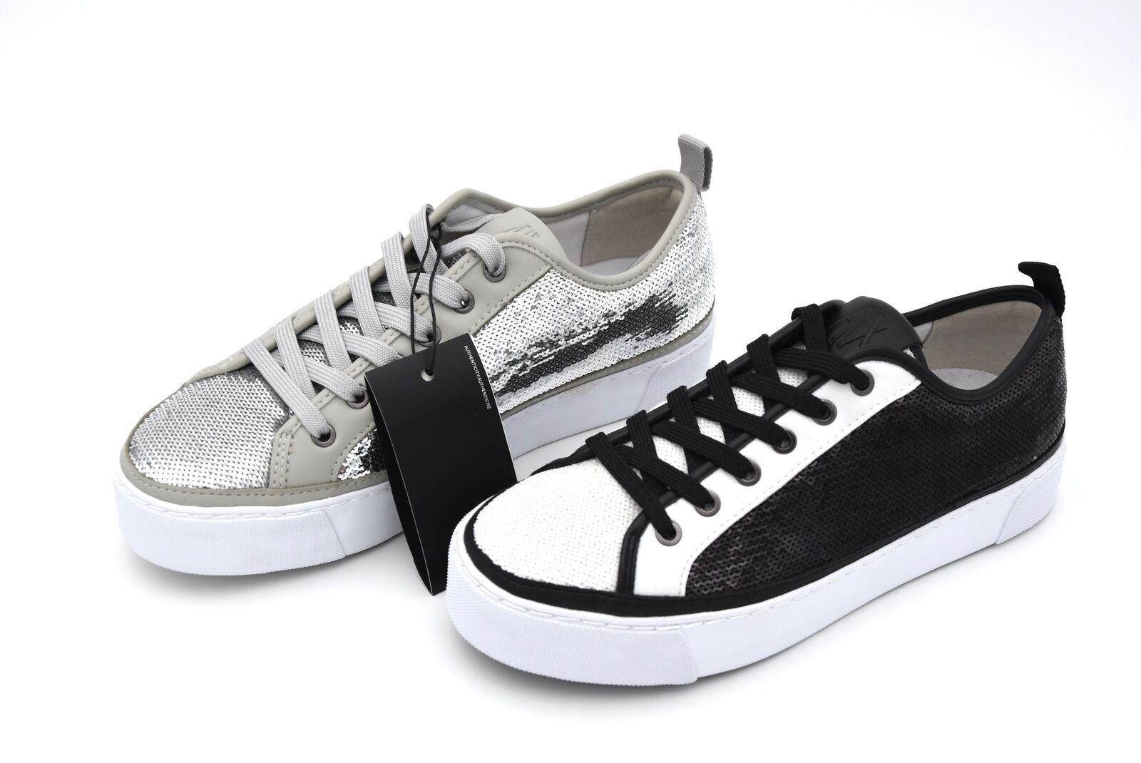 Armani Exchange Mujer Tiempo Libre Informal Tenis Zapatos código 945084 8P476