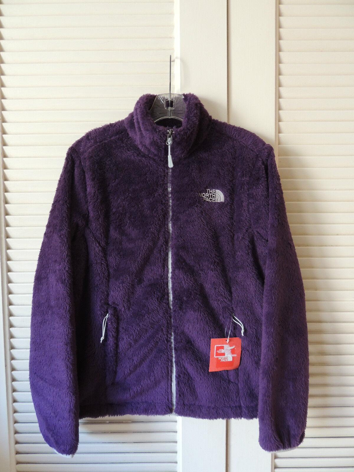 NORTH FACE SUPLE velours violet à longs poils doux Veste polaire, Taille S  Neuf avec étiquettes