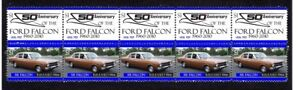 FORD-50th-ANNIV-STRIP-OF-10-MINT-VIGNETTE-STAMPS-XR-FALCON-1