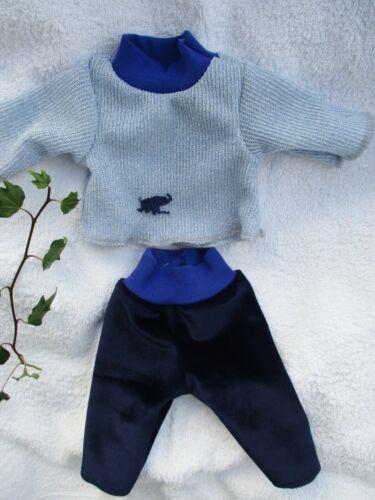 Puppenkleidung Schlafanzug für ca 32 oder 36 cm little Re born Baby Puppen NEU