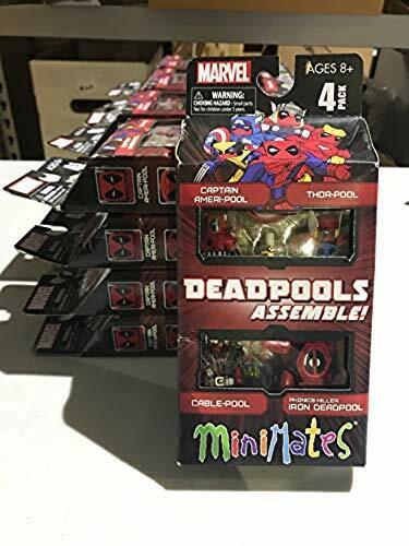 Marvel Minimates Deadpools Assemble Box Set