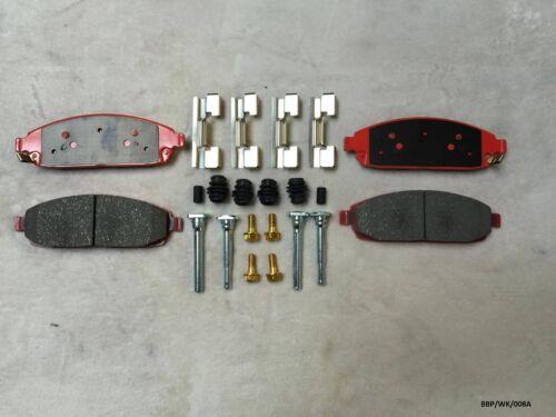 Front Ceramic Brake Pads /& Fitting KIT Grand Cherokee 2005-2010 BBP//WK//008A