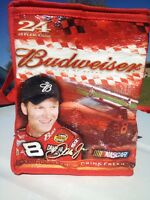 Nascar Dale Earnhardt Jr Budweiser Red Insulated Lunch Bag Box Cooler 2005