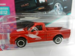 2018 Johnny Lightning 90s Muscle Cars Usa Red 1991 Gmc Syclone