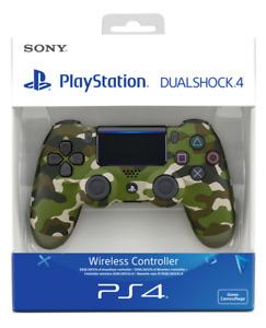 DualShock 4 Controller Green Camouflage V2