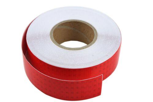 5m Reflex Foil Reflective Tape Film Reflex Foil Reflector Tape Red