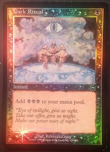 Messe-noire-Mercadia-VO-PREMIUM-FOIL-English-Dark-Ritual-Magic-mtg-NM