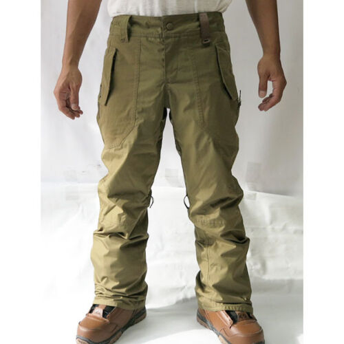 discount HOLDEN Field WATERPROOF Cargo SNOWBOARD PANTS Men sz SMALL Ski WINTER Army OLIVE 693373065358 | eBay for sale