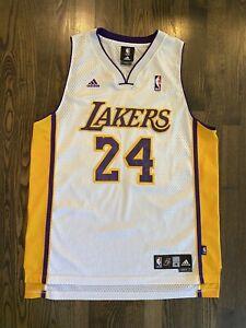 Details about Vintage Adidas KOBE BRYANT #24 Los Angeles LA Lakers Jersey Size Medium 40 M