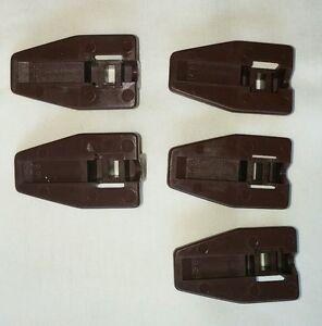 5 Kenlin Rite-Trak I II Dresser Drawer Replacement Stop ...