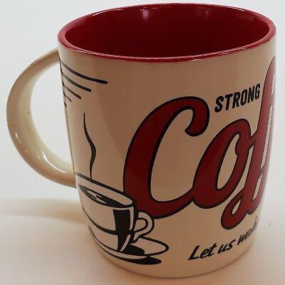 Kaffeetasse Teetasse Trinkbecher Nostalgic Art Tasse Nostalgie Strong Coffee