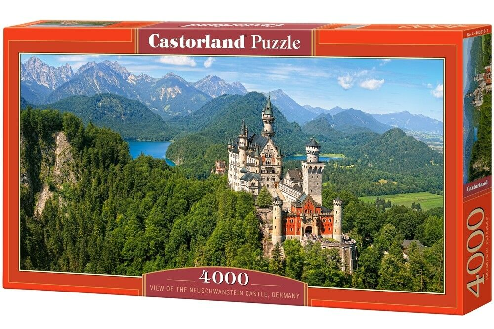 Castorle jigsaw puzzle 4000  -   Neuschwanstein Castle - Geruomoy  liquidazione fino al 70%