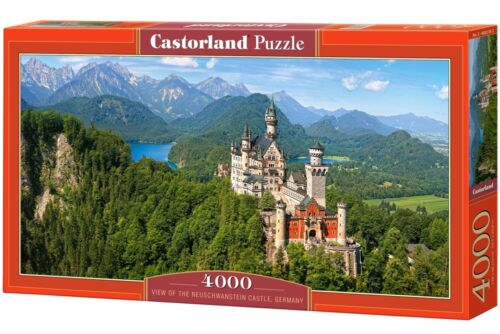 Germany Castorland jigsaw puzzle 4000 Neuschwanstein Castle