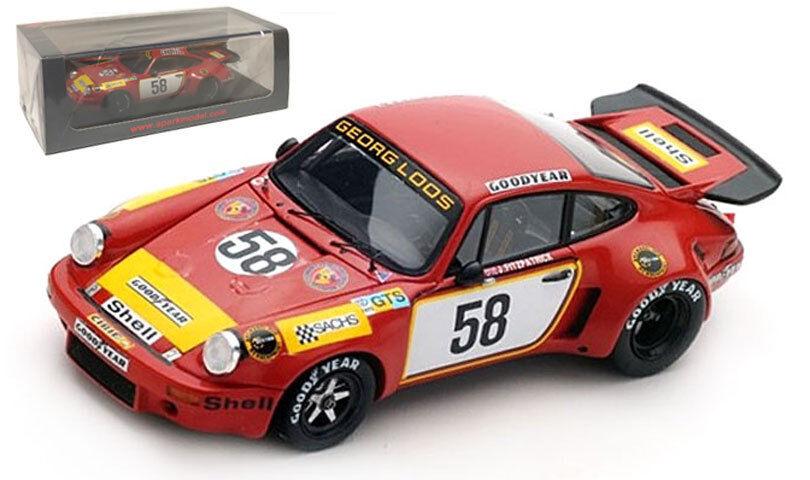 Spark S5088 Porsche Carrera RSR  Gelo Racing Team 'le Mans 1975-escala 1 43