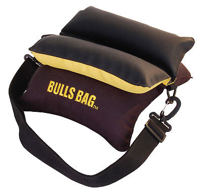 """BULLS BAG #91501-Field Camo//Suede 9/"""" Shooting Rest Filled"""