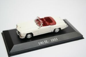 Mercedes-Benz-190-SL-Arana-W121-1955-ano-de-Diecast-Escala-1-43-Modelo-Coleccionable
