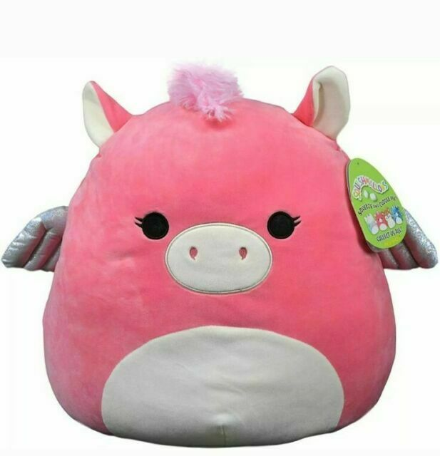 SQUISHMALLOW ~ Paloma The Pegasus 16 inch Super Pillow Soft XL Toy FREE Ship