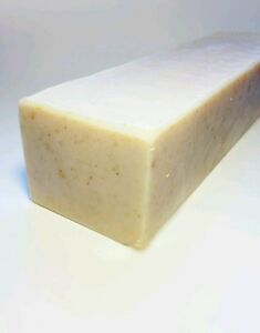 2-lb-Unscented-Butter-Milk-Soap-Loaf-Oatmeal-Honey-w-SHEA