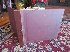 "Vintage Ready File 12 Page 10"" 78 rpm Record Album Storage Book Binder"