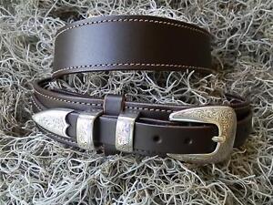 Dark Brown Custom Ranger Belt