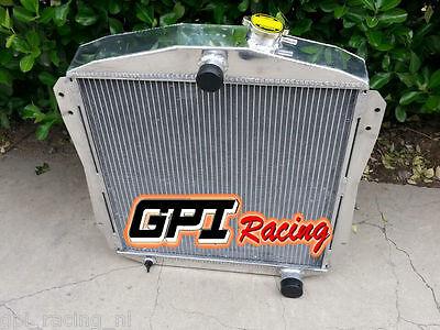 Fit CHEVY CAR//SEDAN BB//SB V8 A//T 1946-1948 ALUMINUM RADIATOR 56MM