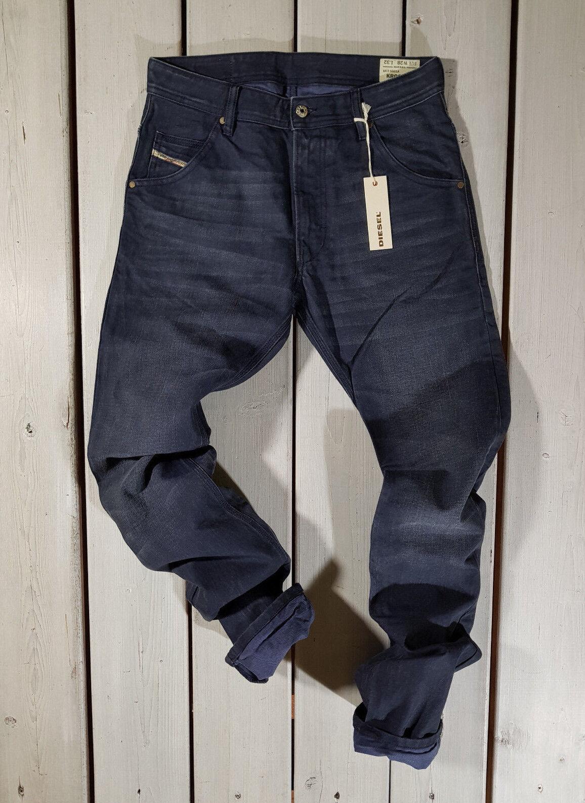 Neu Diesel HERREN Jeans W28 L32 Krooley SR01A Normale Passform Karotte     | Einfach zu spielen, freies Leben  | Sale Deutschland  | Moderne Muster