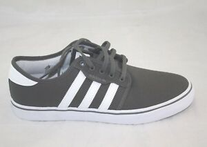 newest 45ed8 6a4b2 Image is loading MEN-039-S-ADIDAS-SEELEY-AQ8528-ASH-WHITE-