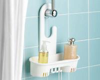 4 X Suction Cup Hooks Bathroom Bath Shower Caddy Hanger