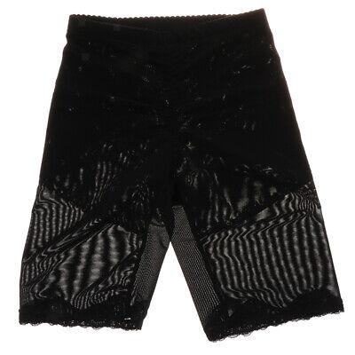 Women Tummy Control Leg Shaper Shorts Mesh Net Seamless Butt Lifter Panties