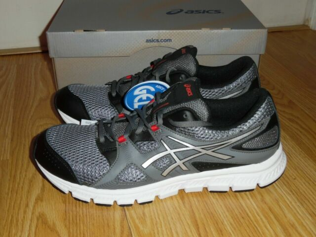 Asics Mens Charcoal Silver Black Shoes Asics Gel Unifire Tr