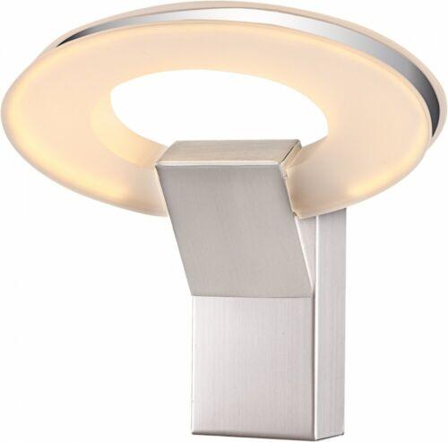 Élégant 8 W DEL Mur Lampe Salon Alu Chrome Acrylique Nickel Big Light