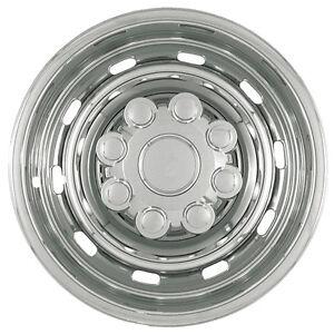 "Dodge Ram Alloy Wheel Skin 1 Piece 17"" Inch 8 Lug CHROME Hub Cap Steel Rim Cover | eBay"