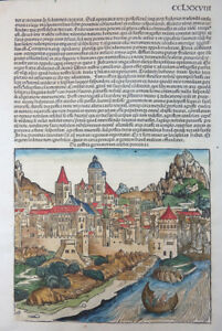 OSTERREICH-AUSTRIA-GERMANORUM-PROVINCIA-SCHEDEL-CHRONIK-INKUNABEL-KOBERGER-1493