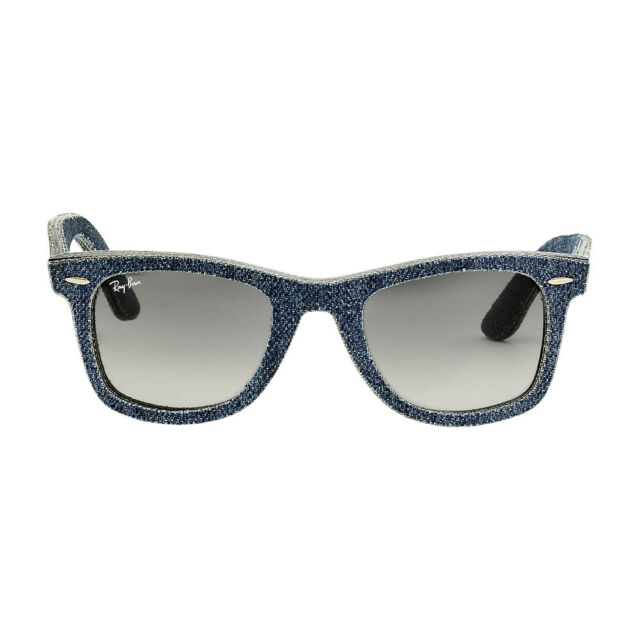 08b148797df Ray-Ban Original Wayfarer Rb2140 116371 Blue Denim Grey Gradient Lens  Sunglasses for sale online