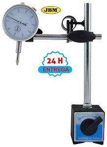 Reloj Comparador Y Jbm De Imantada Detalles Estuche Con Base 52904 8nXk0wOP