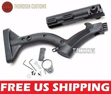 Thordsen Customs BLACK Enhanced Featureless Rifle Stock CA NY Compliant QD Cover