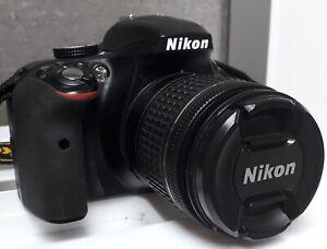 NIKON-D3300-MET-LENS-AF-P-NIKKOR-18-55MM-ORIGENELE-VERPAKKING-amp-TOEB