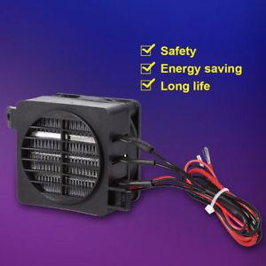 100W 12V Termoventilatore Ventola Termica Riscaldatore Auto Ventilatore
