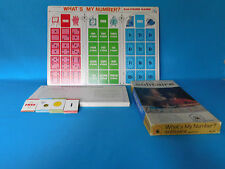 SOLITAIRE WHAT'S MY NUMBER ? EDU-GAME NO. 140 AGES 8-12 COMPLETE BOARD GAME