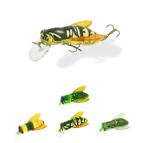 Appât Insectes Cuillère-Rebel Bumble Bug 3,2 cm Guêpe Truites miniwobbler