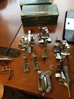 Singer Sewing Machine Attachments Box Vintage Tucker Hemmer Gathering Low Shank