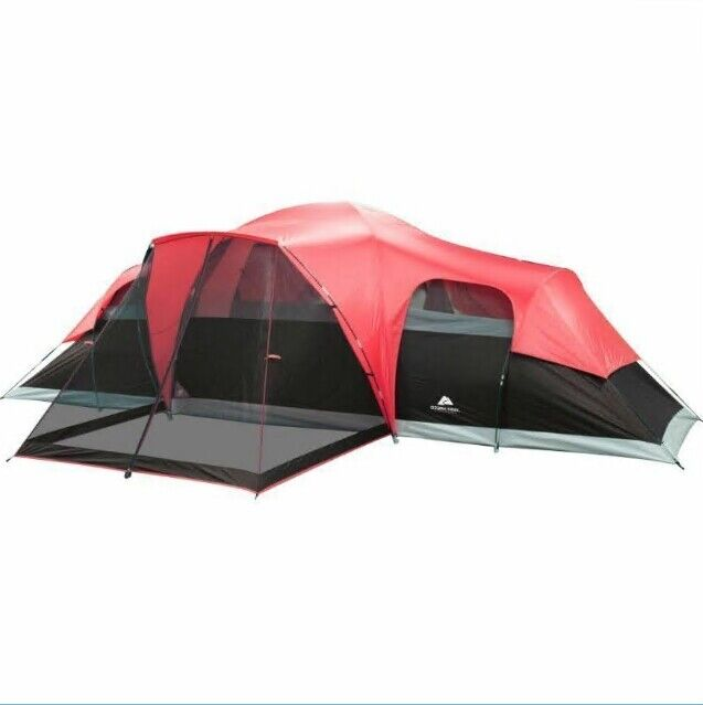 san francisco 50084 622c7 Ozark Trail 10 Person Family Camping Large Tent 3 Room Outdoor Waterproof