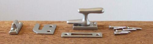 Solid Brass Casement Window Latch Set Choice of 6 Different Finishes