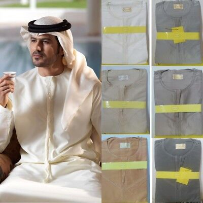 dishdash Islamic Mens Clothing Mens Omani Arab Robe Size 56 Thobe Jubba