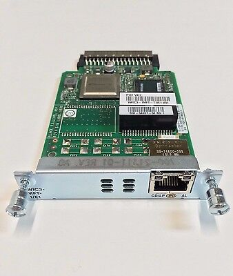 Cisco VWIC3-2MFT-T1//E1 Multiflex Trunk Voice//WAN Interface Card *New Sealed*